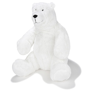 Link to JOON Oslo The Papa Polar Bear, White, 13.5 Inches - White Similar Items in Stuffed Toys
