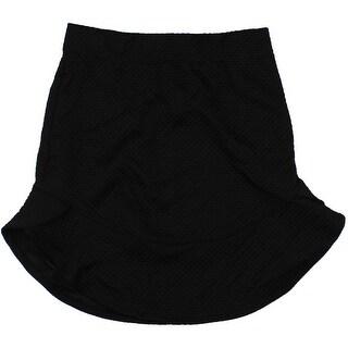Material Girl Womens Juniors Fit & Flare Ruffled Flare Skirt - S