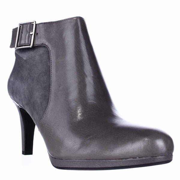 naturalizer Maureen Dress Ankle Boots, Graphite Grey