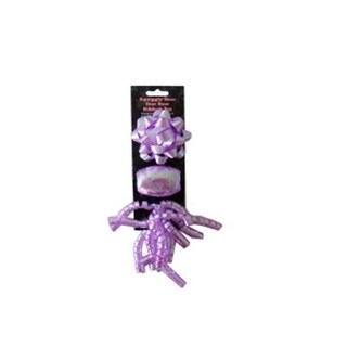 Bulk Buys UU480 Bow and ribbon set purple Case of 24