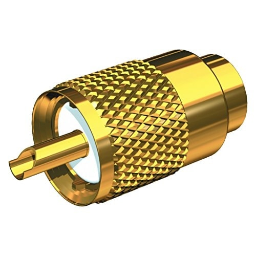 Gold Plated Pl-259 Connector W/Ug175