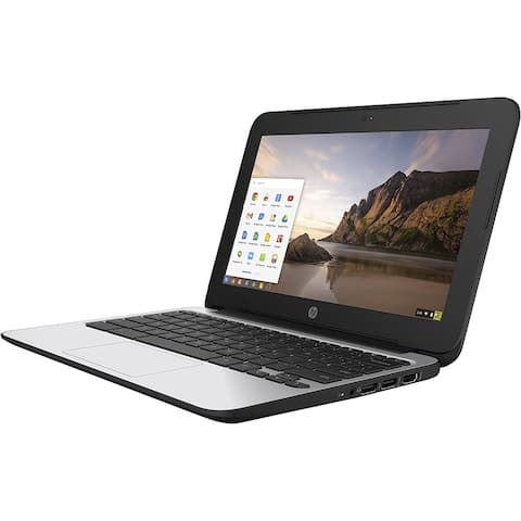 "HP Chromebook 11 G4 11.6"" (4GB RAM, 16GB SSD) Laptop - Black - Acceptable"