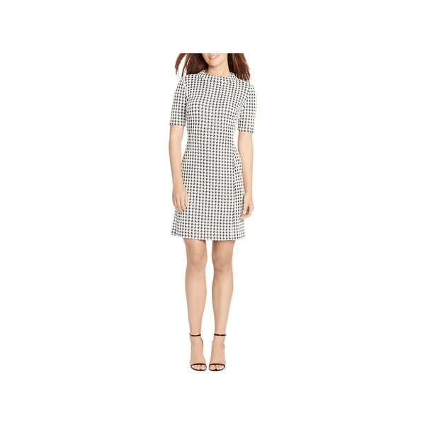 0dfce887 Shop American Living Womens Casual Dress Houndstooth Sheath - Free ...