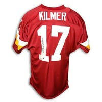Autographed Billy Kilmer Washington Redskins Red Throwback Jersey