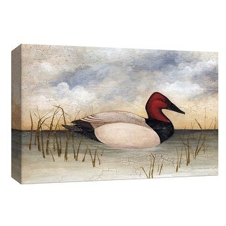 "PTM Images 9-154031  PTM Canvas Collection 8"" x 10"" - ""Canvas Back"" Giclee Ducks Art Print on Canvas"
