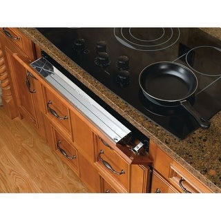 "Rev-A-Shelf 6581-25-5 6581 Series 25"" Stainless Steel Sink Front Tip-Out Tray"
