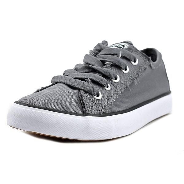 Gotta Flurt Classic II Women Round Toe Canvas Gray Sneakers