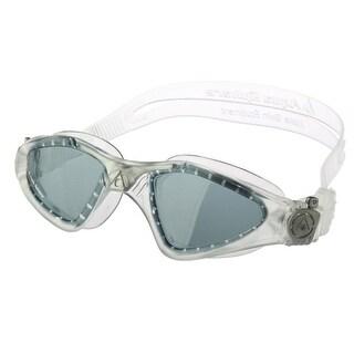 Aqua Sphere Kayenne Smoke Lens Swim Goggles - Translucent/Silver