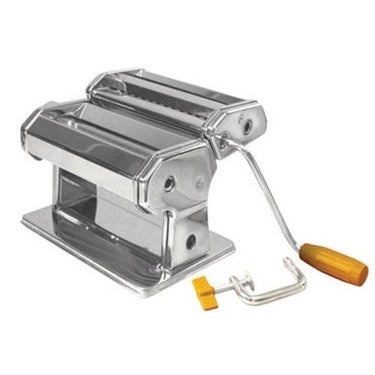 Weston 01-0201 Roma Traditional Style Pasta Machine, Stainless Steel, 6""