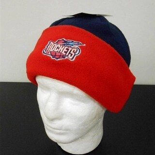 Houston Rockets Adult Mens Unisex Osfa Beanie Cuffed Cap Hat