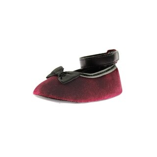 Luvable Friends Ballet Flats Bow Velvet (3 options available)
