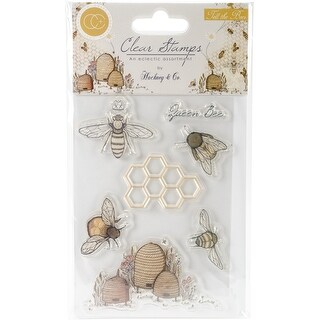 Craft Consortium A5 Tell The Bees Clear Stamps-