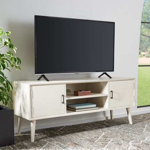 "Safavieh Sorrel Mid-Century 47-inch Storage Media TV Stand - 47.3"" W x 15.8"" L x 20"" H"