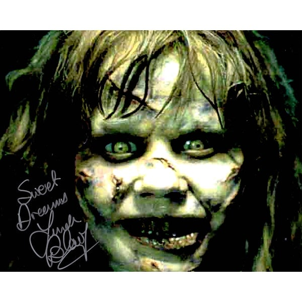 shop linda blair the exorcist regan scary face close up 8x10 photo