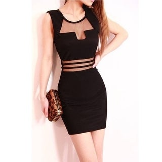 Link to Fashion Sexy Low-Cut Backless Mesh See-Through Close-Fitting Slim Fit Dress Skirt Similar Items in Athletic Clothing