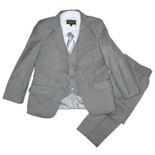 Little Boys Gray Classic Formal 5 Pcs Vest Shirt Tie Suit|https://ak1.ostkcdn.com/images/products/is/images/direct/0d2544127afbd4c58351ffcda1862618e4df44ac/Little-Boys-Gray-Classic-Formal-5-Pcs-Vest-Shirt-Tie-Suit-2T-7.jpg?impolicy=medium