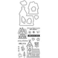 Hero Arts Stamp & Cut-Gingerbread House