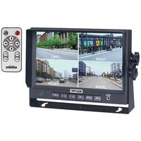 """Crimestopper Sv-8900.Qm.Ii 7"""" Color Lcd Monitor With Built-In Quad View"""