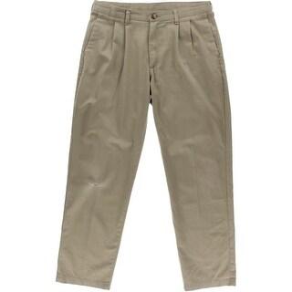 Lee Mens Twill Stain Resistant Khaki Pants - 32/34