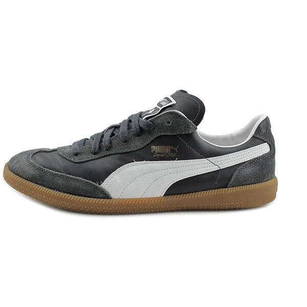 Puma Liga Leather Sneakers In Black 36459702 | Products