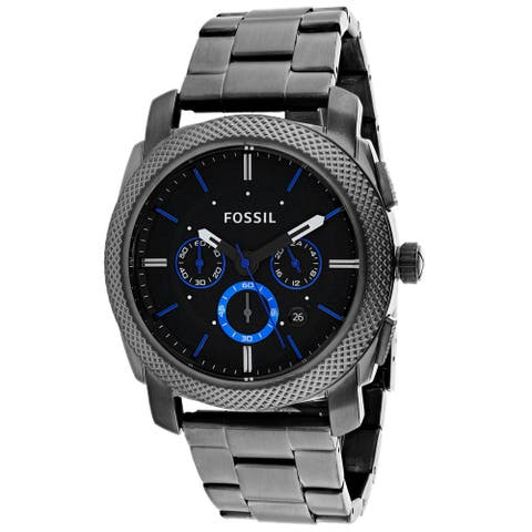 Fossil Men's Machine Chronograph Black Dial Watch - FS4931 - One Size