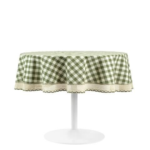 Achim Buffalo Check Tablecloth