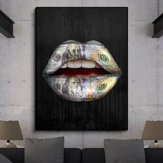 IKONICK Expensive Taste Canvas Art