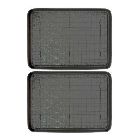 Taste of Home Baking Sheet with 17.5 x 12.5 Inch Cooling Rack (Twin Pack)