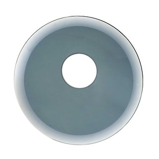Replacement Waterfall Faucet Smoke Glass Disc Tray Plate Renovator's Supply