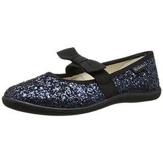 Naturino Girls Bow Glitter Ballet Flats