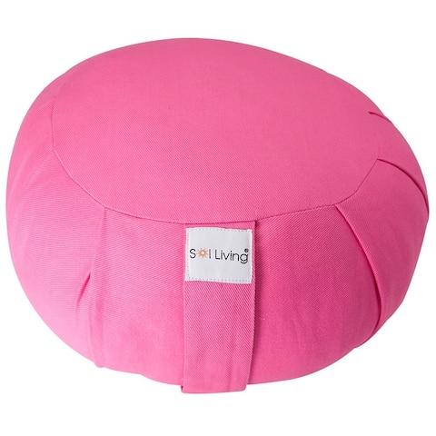 Sol Living Round Cotton Zafu Cushion Yoga Accessory
