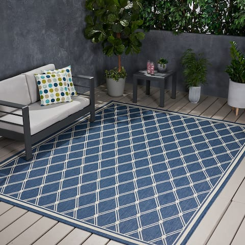 Safi Outdoor Area Rug by Christopher Knight Home