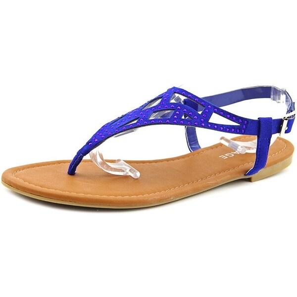 Rampage Pattie   Open-Toe Synthetic  Slingback Sandal