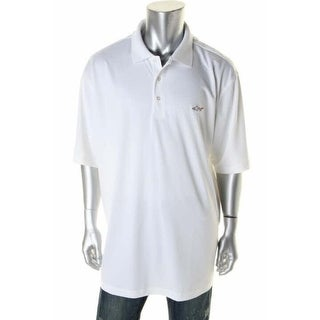 Greg Norman Mens Big & Tall Pique Short Sleeve Polo Shirt - 3xb