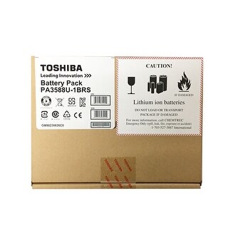 NEW - NEW Toshiba Primary Lithium Ion Battery Pack, Black, 6 cell, 56Wh