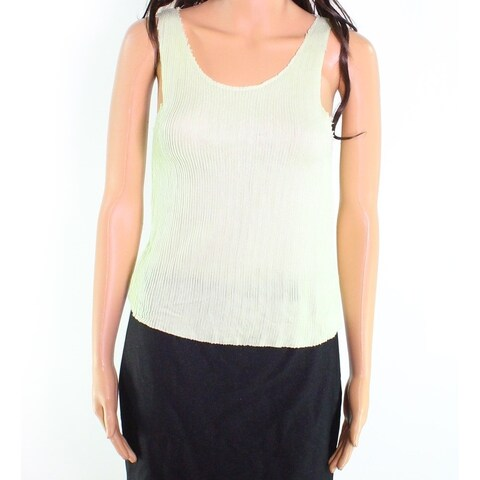 Moa Moa NEW Green Womens Size XS Sleeveless Stretch Tank Cami Top