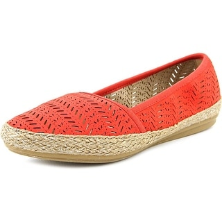 Easy Spirit Gannet Round Toe Canvas Espadrille