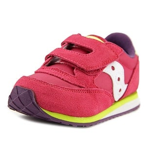 Saucony Baby Jazz HL Round Toe Suede Sneakers