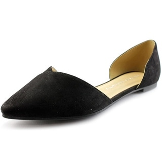 Chinese Laundry Z-Eternal Love Women Pointed Toe Synthetic Black Flats