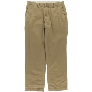 Polo Ralph Lauren Mens Classic Fit Flat Front Chino Pants