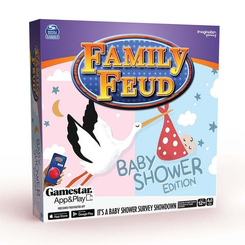 Imagination Games Family Feud Baby Shower Game - It's A Baby Shower Survey Showdown!