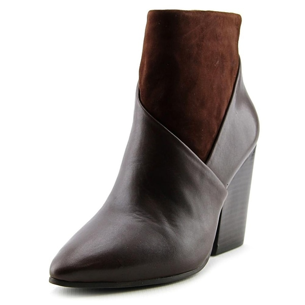 Vince Camuto Raylan Women Pointed Toe Leather Brown Ankle Boot