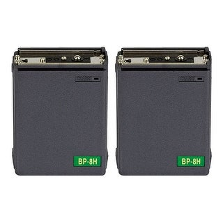 Replacement Battery for Icom BP8 (2-Pack) Replacement Battery