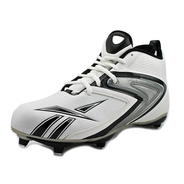 Reebok NFL Ferocious D3 Men White/Black Cleats
