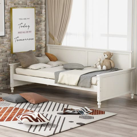 Modern Wooden Daybed Twin Size