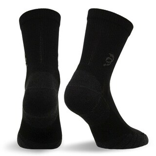Travelsox The Best Dress and Travel Crew Compression Socks TSC, Black