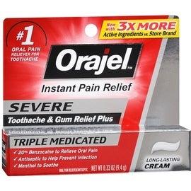 Orajel Severe Pain Formula 0.33 oz