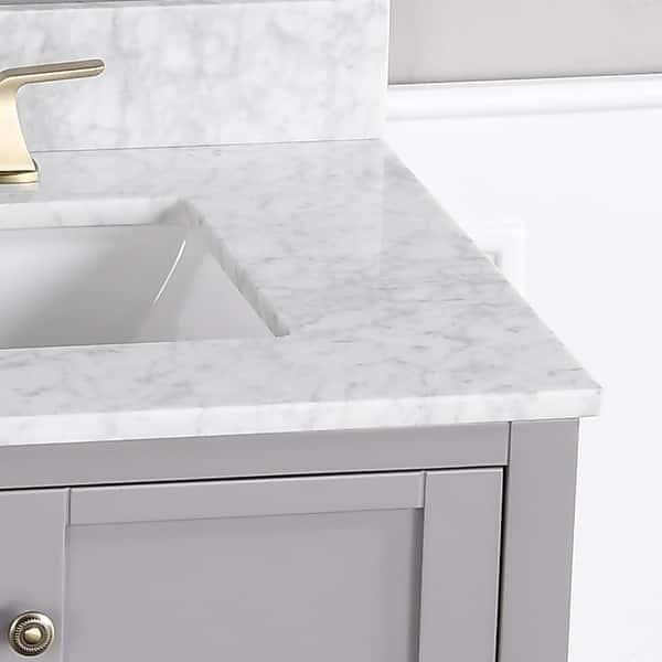 30 Bathroom Vanity Set And Sink Combo Cabinet With Mirror Overstock 33620690
