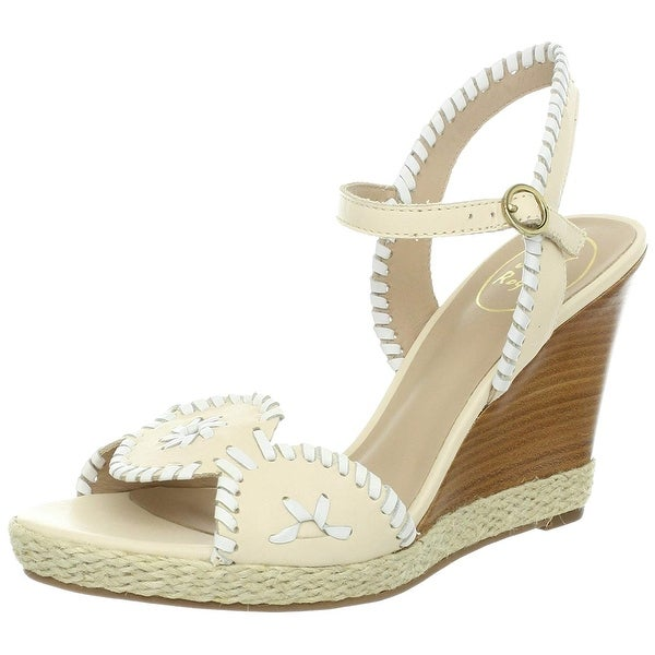 d63ea6ffa9 Shop Jack Rogers Women's Clare Wedge Sandal - Free Shipping Today ...