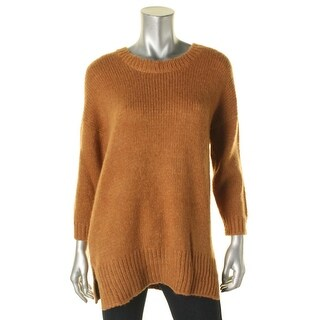 Mason Womens Pullover Sweater Knit Ribbed Trim - p